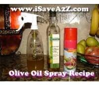 Homemade Olive Oil Spray Recipe