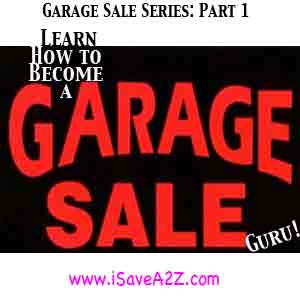 How to make money online with Garage Sales