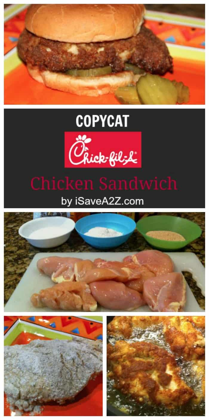 Copycat Chickfila Chicken Sandwich Recipe