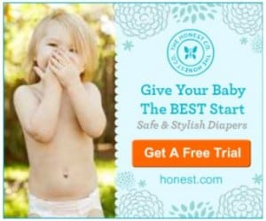 **Good Deal** FREE Trail of Honest Company Diapers & Wipes Package or Household Essentials Package!!!