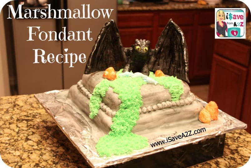 Easy Marshmallow Fondant Recipe