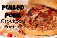 slow cooker pulled pork recipes
