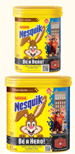 WARNING:  Nestle Nesquik announces a recall due to possible Salmonella!