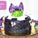 Homemade Skylanders Portal Cake!