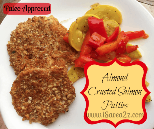 Almond Crusted Salmon Patties Recipe