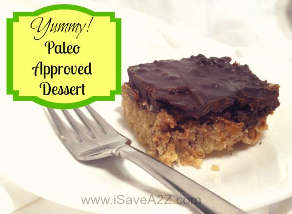 Chocolate Almond Butter Bar No Bake Recipe