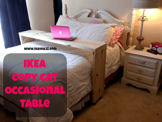 Ikea Copy Cat Homemade Occasional Table