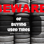 Beware of Used Tire Shop Tires!  (Good Information Everyone Should Know)