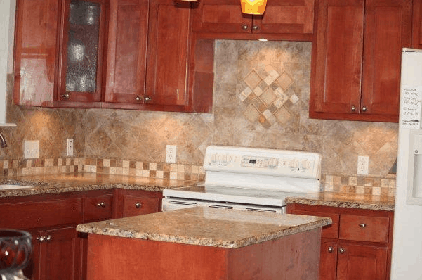 Simple Kitchen Backsplash simple kitchen backsplash remodel idea - isavea2z