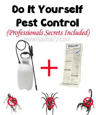 Home made pest control