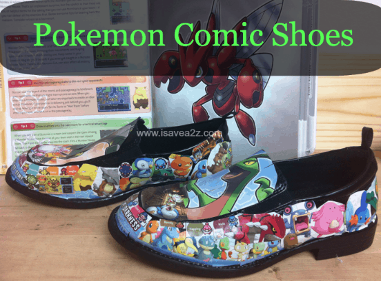 97693b2b5975 DIY Comic Book Shoes Tutorial - iSaveA2Z.com