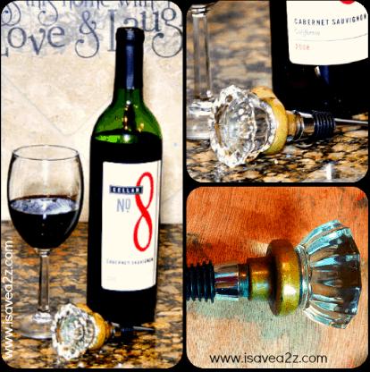 Handmade Antique Door Knob Wine Stopper iSaveA2Zcom