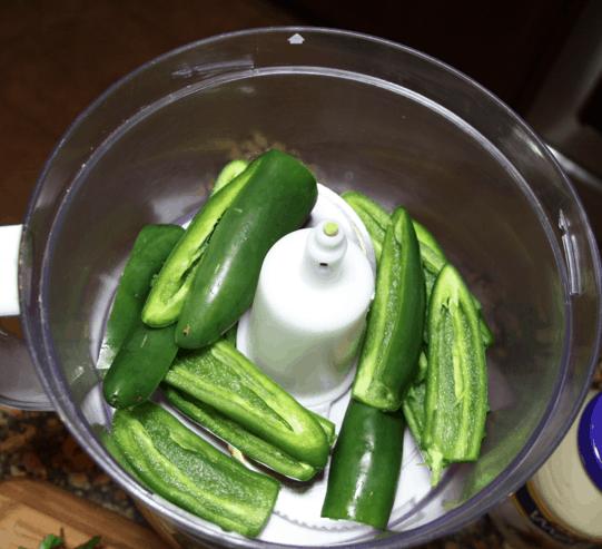 Cilantro jalapeno dip recipe