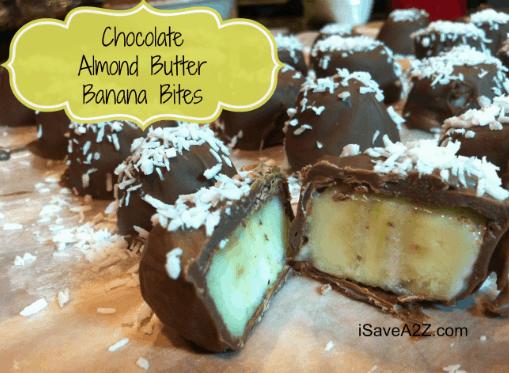 Chocolate Peanut Butter Banana Bites Recipe