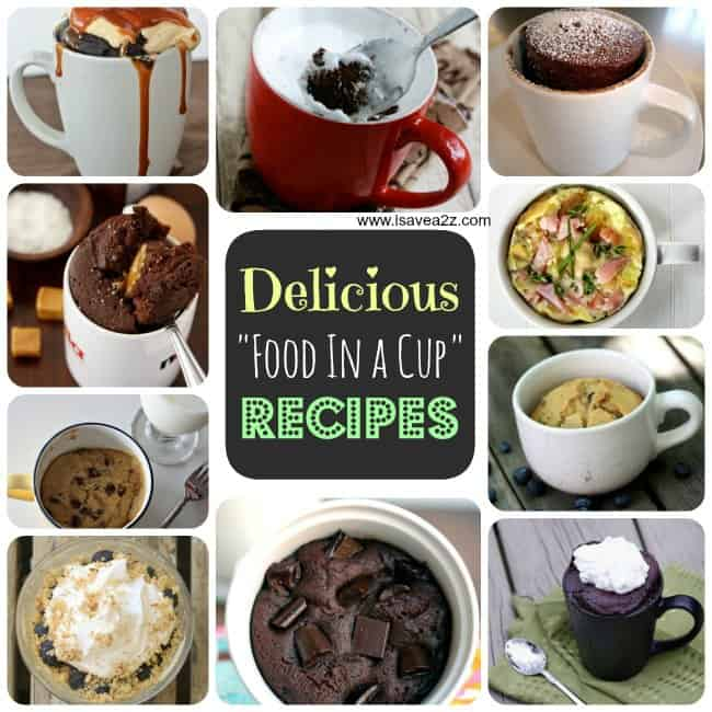 Microwave Chocolate Cake in a Mug Recipe