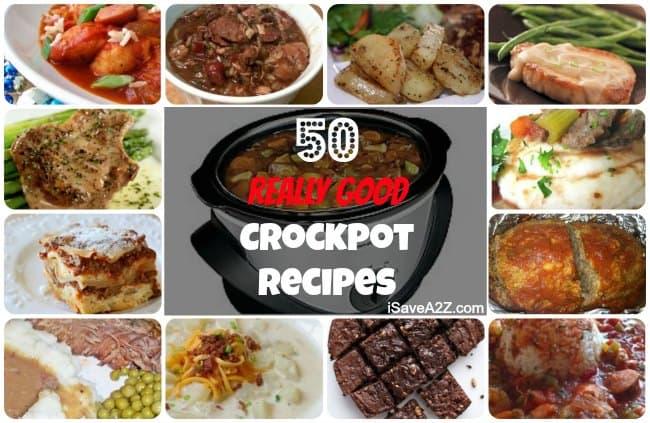 50 Easy Crockpot Recipes