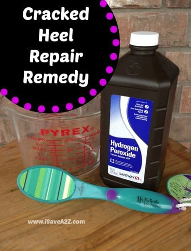 Cracked Heel Remedy solution