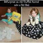 RePurpose Old Stuffed Animals Craft Project
