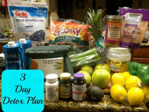 Detox Diet Drink (3 Day Plan)