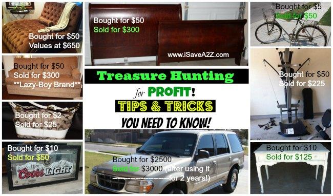 Treasure Hunting for Profit