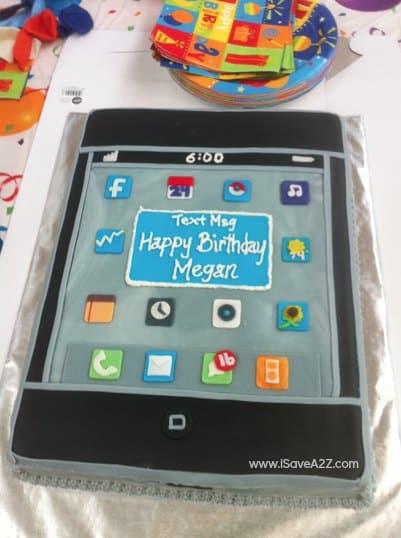 iPhone Birthday Cake