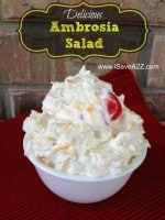 Cool Whip Recipes: Ambrosia Salad