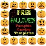 25 (Easy) Free Halloween Pumpkin Carving Templates