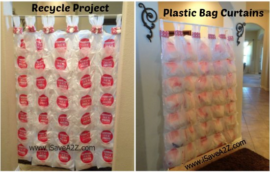 Recycle Project Plastic Bag Curtains Isavea2z Com