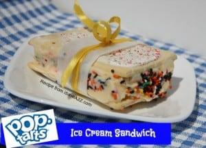 Pop Tarts Ice Cream Sandwich