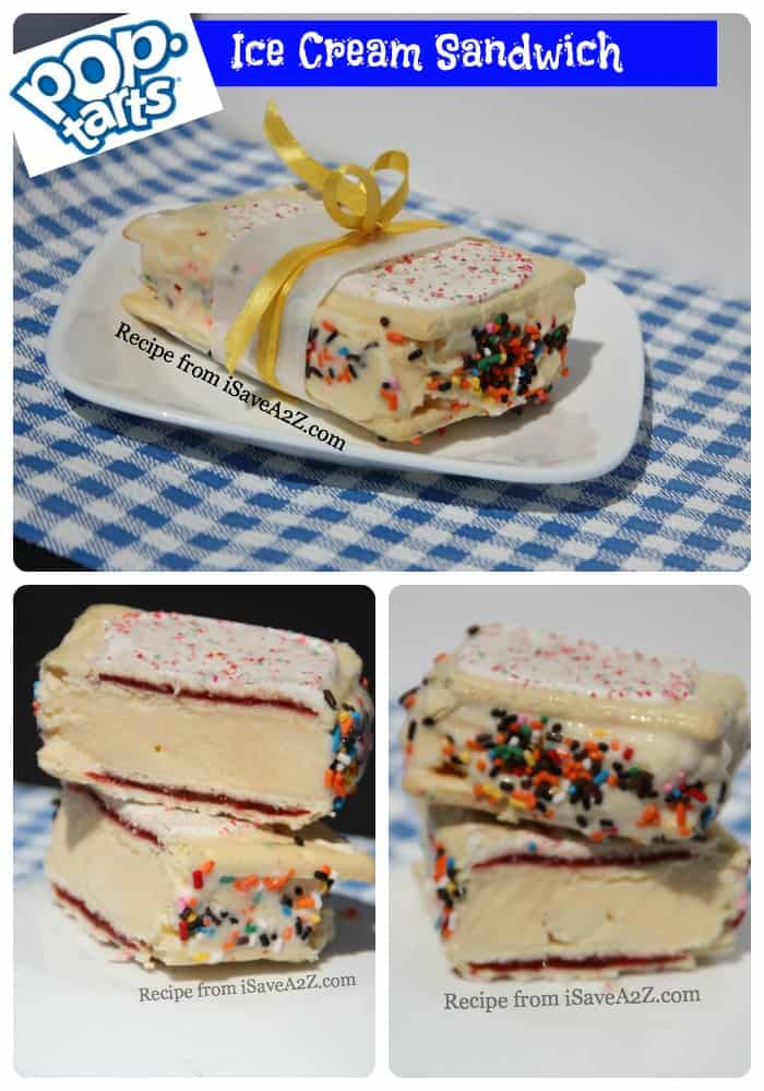 Pop Tarts Ice Cream Sandwich Recipe