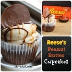 Easy Reese's Peanut Butter Cupcakes Recipe
