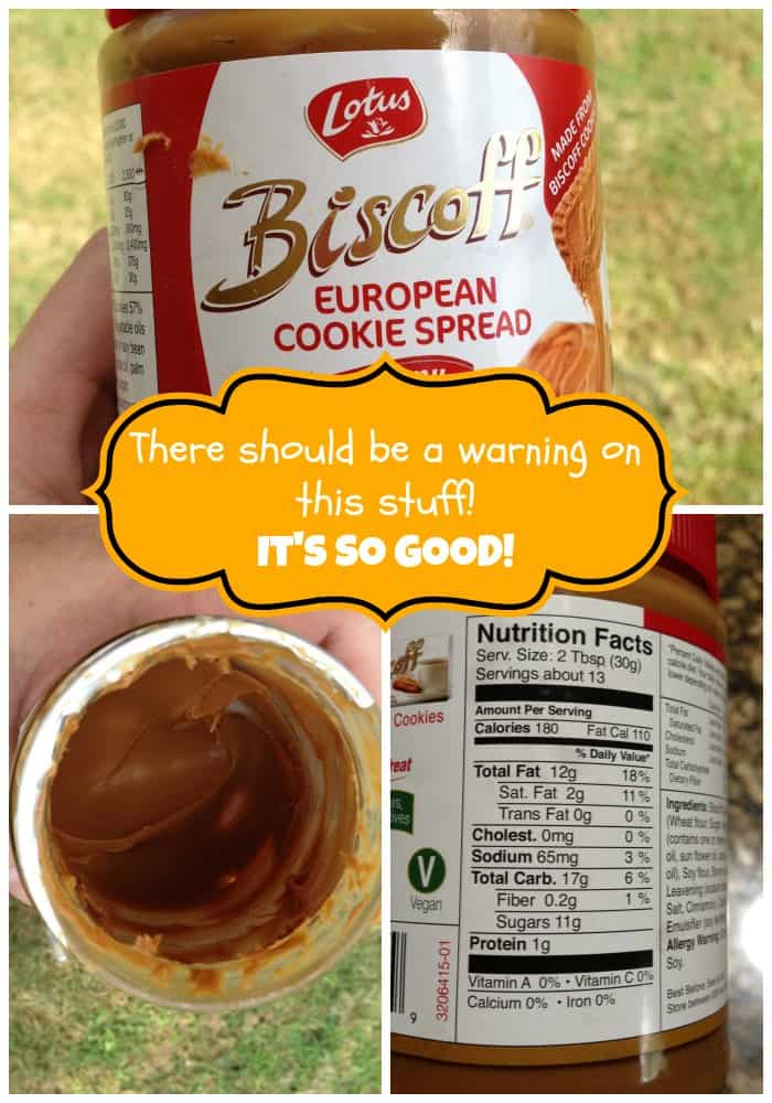 biscoff cookie spread  there should be a  u0026quot warning u0026quot  label