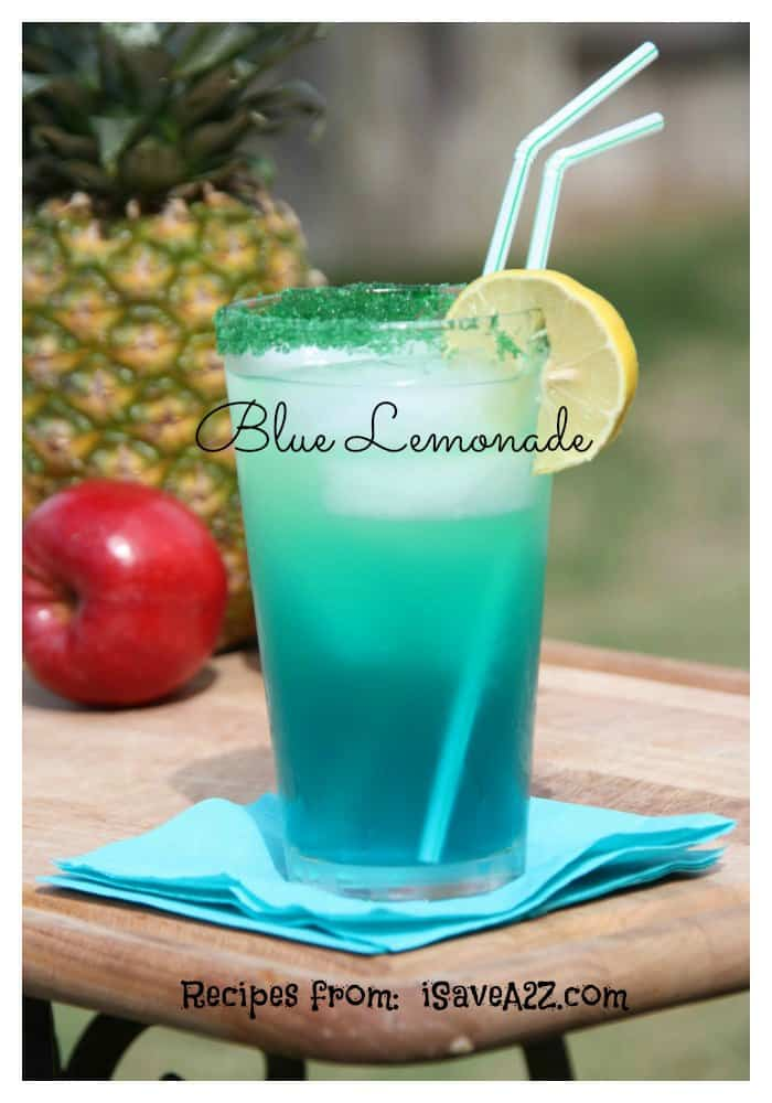 Homemade Blue Lemonade Isavea2z Com