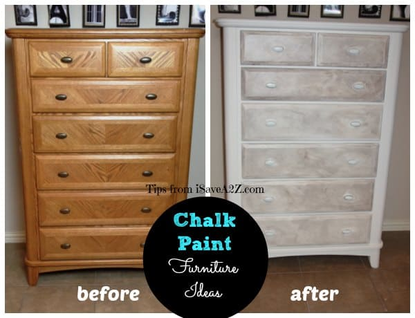 how to clean furniture before chalk painting