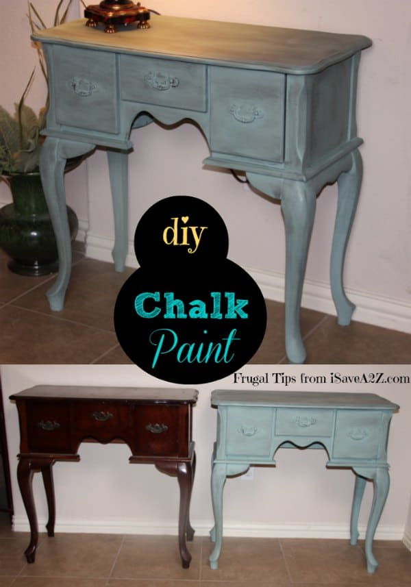 how to use chalkboard paint on furniture
