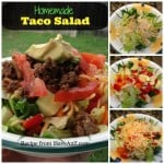 Easy Homemade Taco Salad
