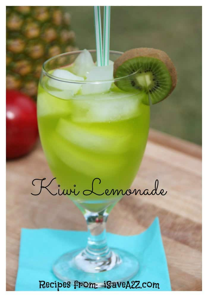 Homemade Kiwi Lemonade Recipe Isavea2z Com