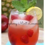 Homemade Raspberry Mint Lemonade Recipe