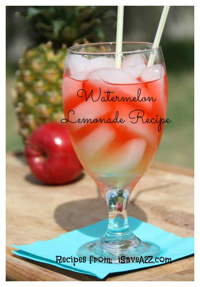 Watermelon Lemonade Recipe Isavea2z Com