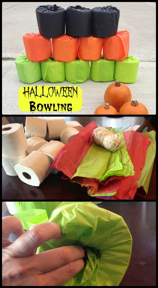 Halloween Bowling Game #CottonelleTarget #PMedia #ad