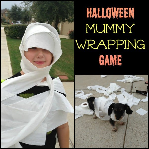 Halloween Mummy Wrapping Game