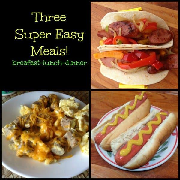 Easy Meal Ideas With Hillshire Farm #buy3save3 #pmedia