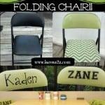 DIY: Drab To FAB Folding Chair