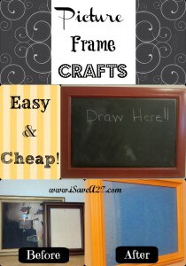 Picture Frame Crafts