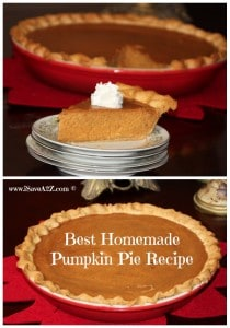 Super Easy and Part Homemade Pumpkin Pie Recipe