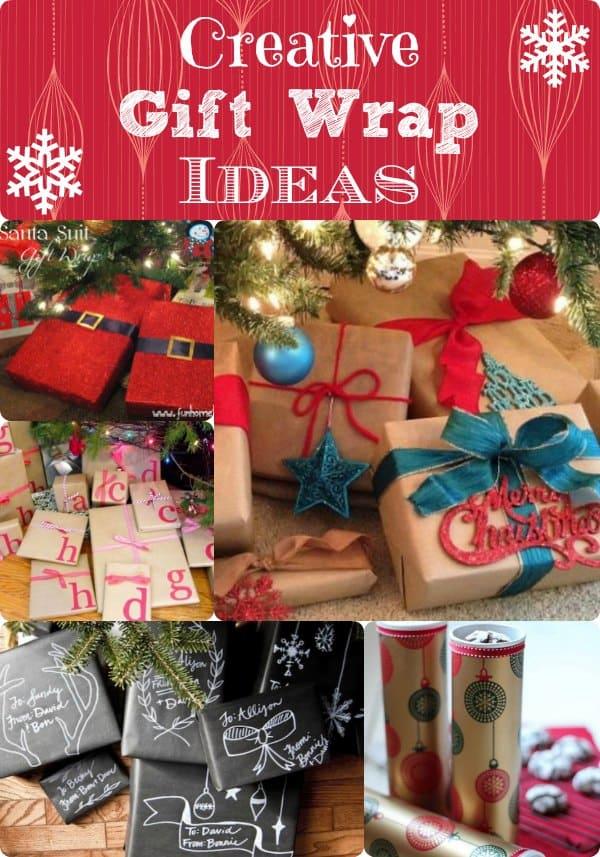 Creative Gift Wrap Ideas Chalkboard Wrapping Amp A Cookie Carrier