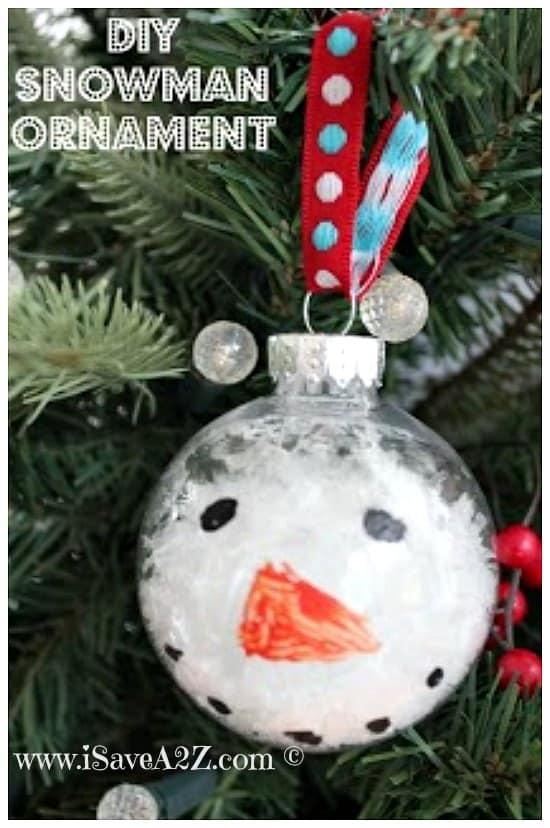 Diy Snowman Ornament Isavea2z Com