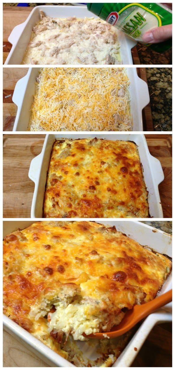 Easy Hash Brown Casserole