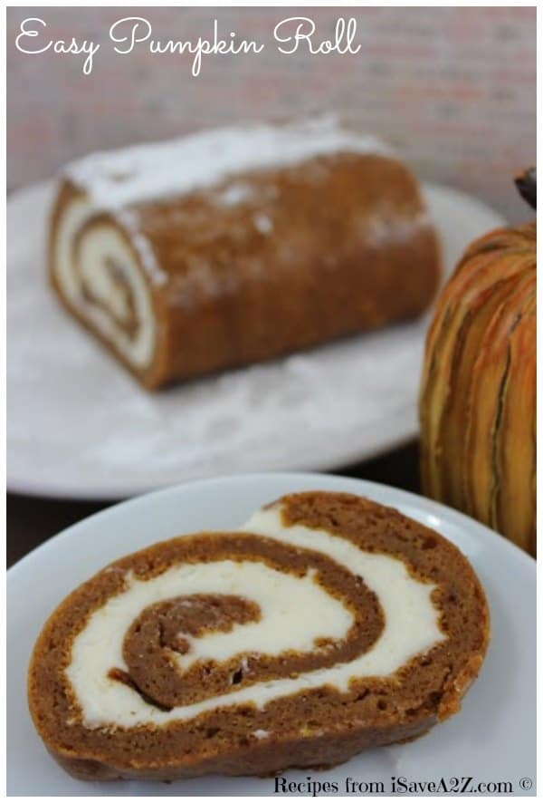 Easy Pumpkin Roll Recipe Isavea2z Com