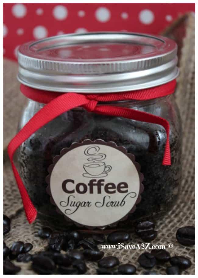 Homemade Coffee Sugar Scrub Recip